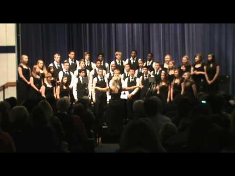 Gloria with Angels We Have Heard on High HS Choir SouthLake Christian Academy