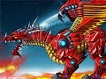 Robot Dinosaurs Battle Fire Dragon  /  Роботы динозавры Битва Огненого Дракона