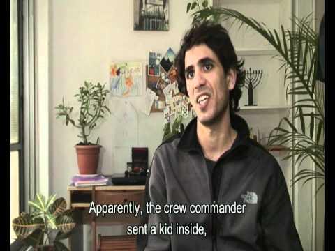 The crew commander sent a kid inside
