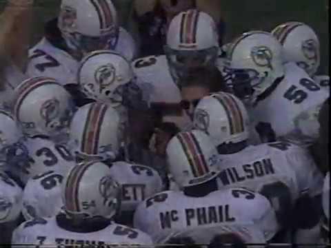 1996 NFL Dallas vs Miami Oct 27