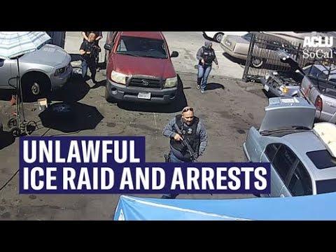 ICE raids South L.A. car shop