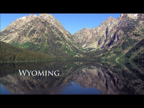 NW Wyoming from the Air