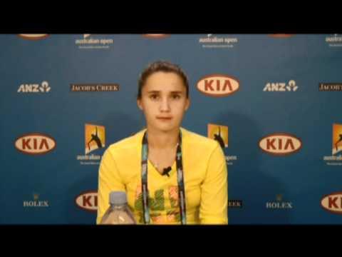 2011 Australian Open - Lauren Davis