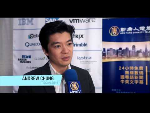 Andrew Chung of Khosla Ventures Interviewed by NTD Television at TiECon 2014