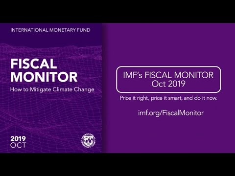 IMF's Fiscal Monitor, October 2019