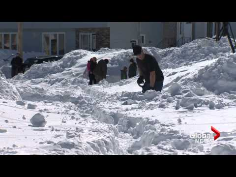 Spring, but no spring-like weather in Atlantic Canada