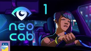 Neo Cab: Apple Arcade iPad Gameplay Walkthrough Part 1 (by Chance Agency / Fellow Traveler)