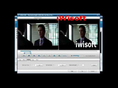 iWisoft Free Video Converter, Convert between any video and audio, as well as video to pictures.