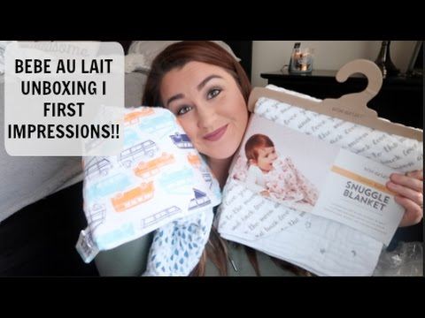 BEBE AU LAIT UNBOXING AND FIRST IMPRESSIONS!!