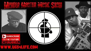 Professor Griff says the man on the Public Enemy logo is LL Cool J's hype man E Love