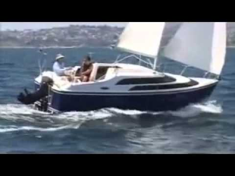 Cruising sailboat / motorsailer / open transom - TATTOO-26 ...