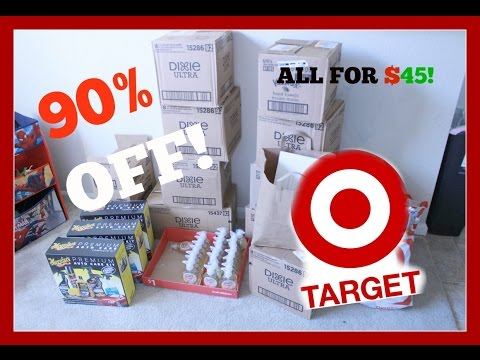 Saved $376! EPIC TARGET CHRISTMAS CLEARANCE HAUL!  90% OFF!!