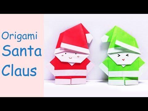 Easy Origami Santa Claus | DIY Paper Crafts | DIY Handmade
