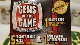 Gems of the Game $20 Wal-Mart Football Card Repack