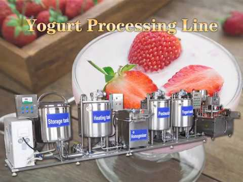 Yogurt Production Line - How To Maker Yogurt? - Yogurt Processing Machine