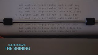 Monday Challenge: Scene Remake | The Shining