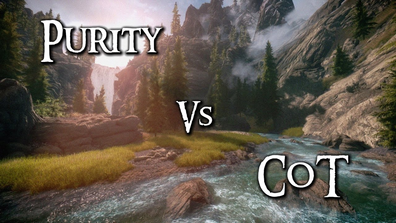 Skyrim Mod Comparison - Purity Vs. Climates Of Tamriel (+Pure Weather 2.0) - YouTube : best lighting mod skyrim - azcodes.com