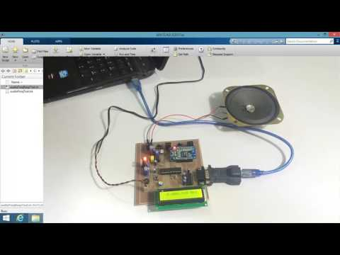 Audio Frequency Generator and Response Analyzer MATLAB