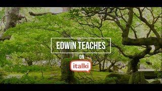 Learn English on italki with Edwin thumbnail