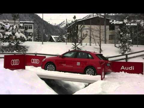 Audi Driving Experience in St. Anton am Arlberg