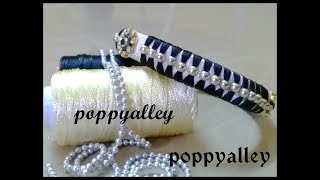 How to make silk thread bangle at home