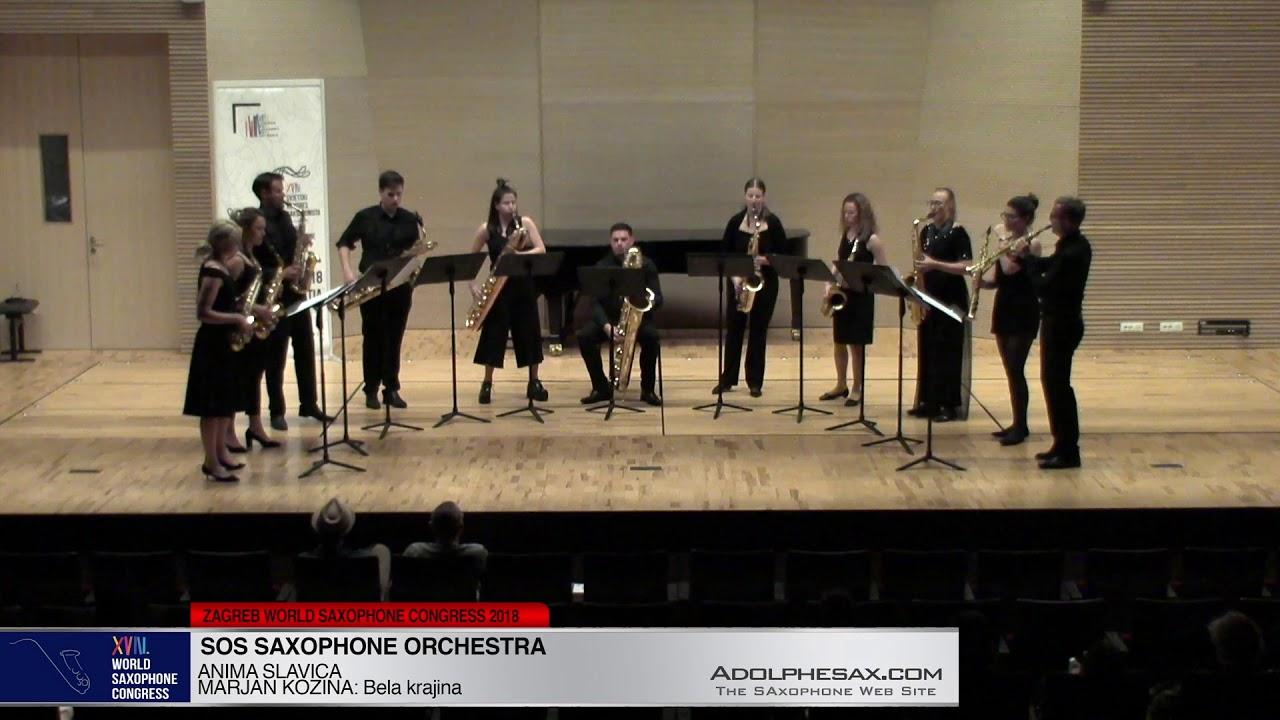 Bela krajina by Marjan kozina - SOS Saxophone Orchestra -XVIII World Sax Congress 2018