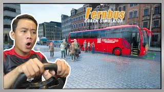 Xe PHƯƠNG TRANG Vượt Đèo ĐÀ LẠT Ngày Mưa | Fernbus Simulator