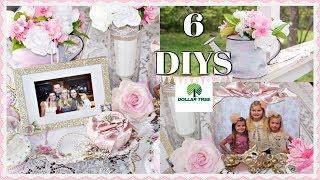🌹6 DIY DOLLAR TREE DECOR CRAFTS 🌹 MOTHER'S DAY / BRIDAL / SPRING & SUMMER