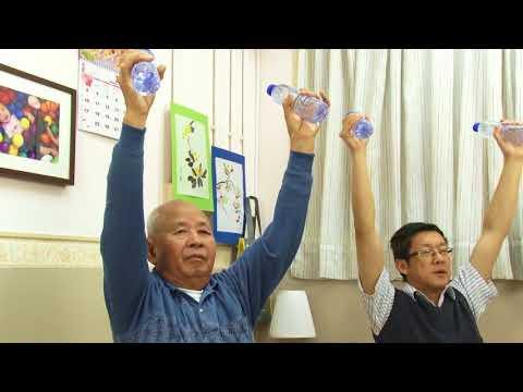 Cara lansia berolah raga dengan 2 tangan