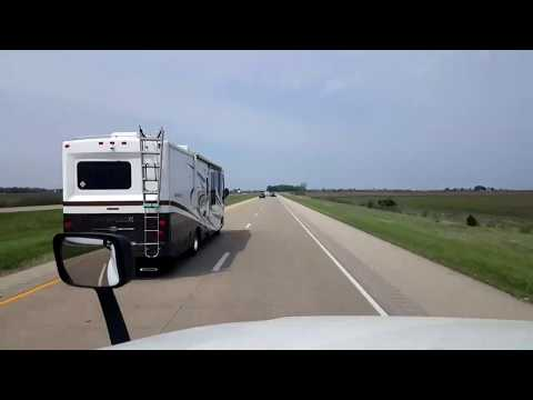 BigRigTravels LIVE! Toluca to Rochelle, Illinois Interstate 39 North-May 14, 2018