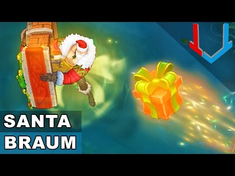 Santa Braum Skin Spotlight (League of Legends)