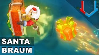 Santa Braum Skin Spotlight (League of Legends)