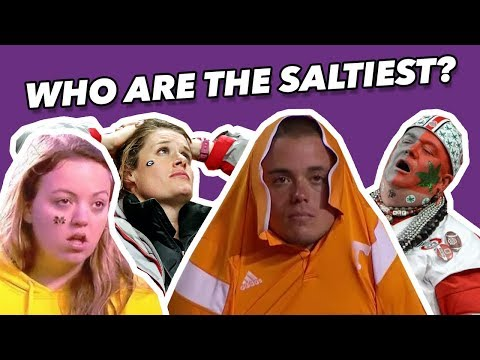 Who Are The SALTIEST College FOOTBALL FANS (Ranked)?