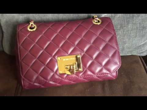 f4855300809a WIMB How I Pack My Michael KORS VIVIANNE QUILTED SHOULDER BAG!