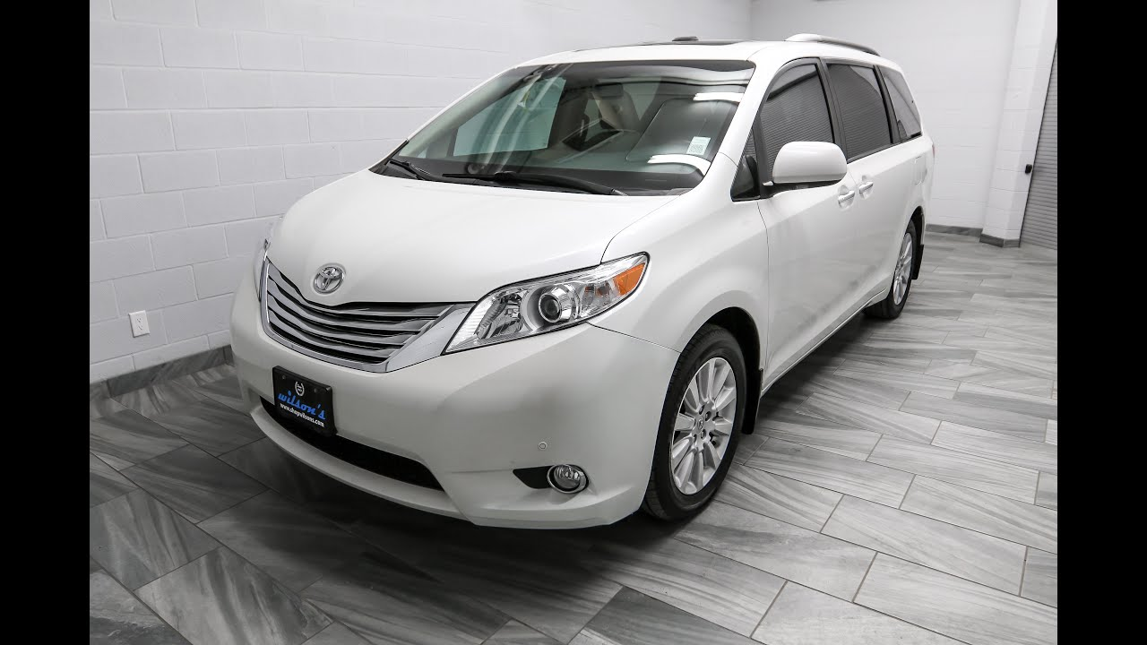 2012 Toyota Sienna LIMITED AWD Mark Wilsons Better Used Cars Guelph ...