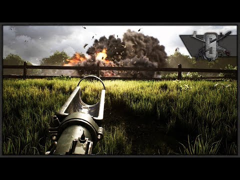 PANTHER MEETS PIAT - BRITISH ANTI-TANK PARATROOPER GAMEPLAY - Post Scriptum Test Weekend 4K Gameplay |