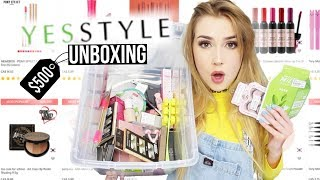 $500 OF KOREAN MAKEUP FROM YESSTYLE!! | This is what I got
