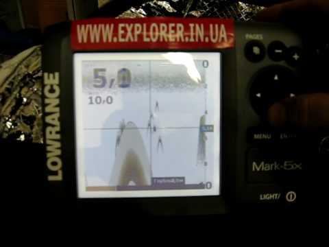 эхолот fishfinder mark 5x pro