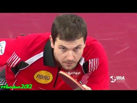Timo Boll vs Wang Xi (German Cup 2016) Final