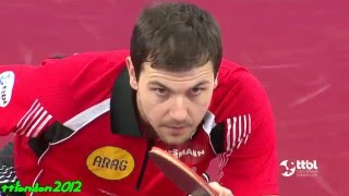 Repeat youtube video Timo Boll vs Wang Xi (German Cup 2016) Final