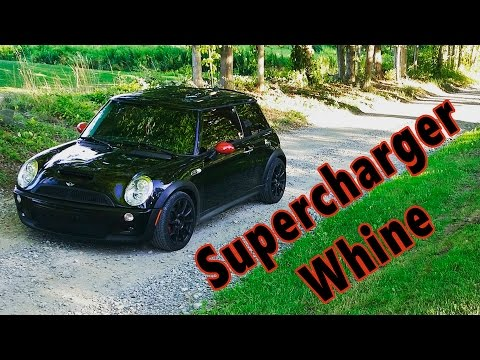 Mini Cooper Supercharger Whine - YouTube