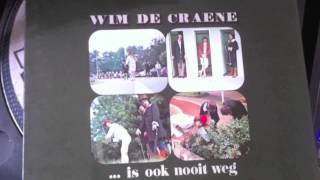 Wim De Craene : daar ga je dan