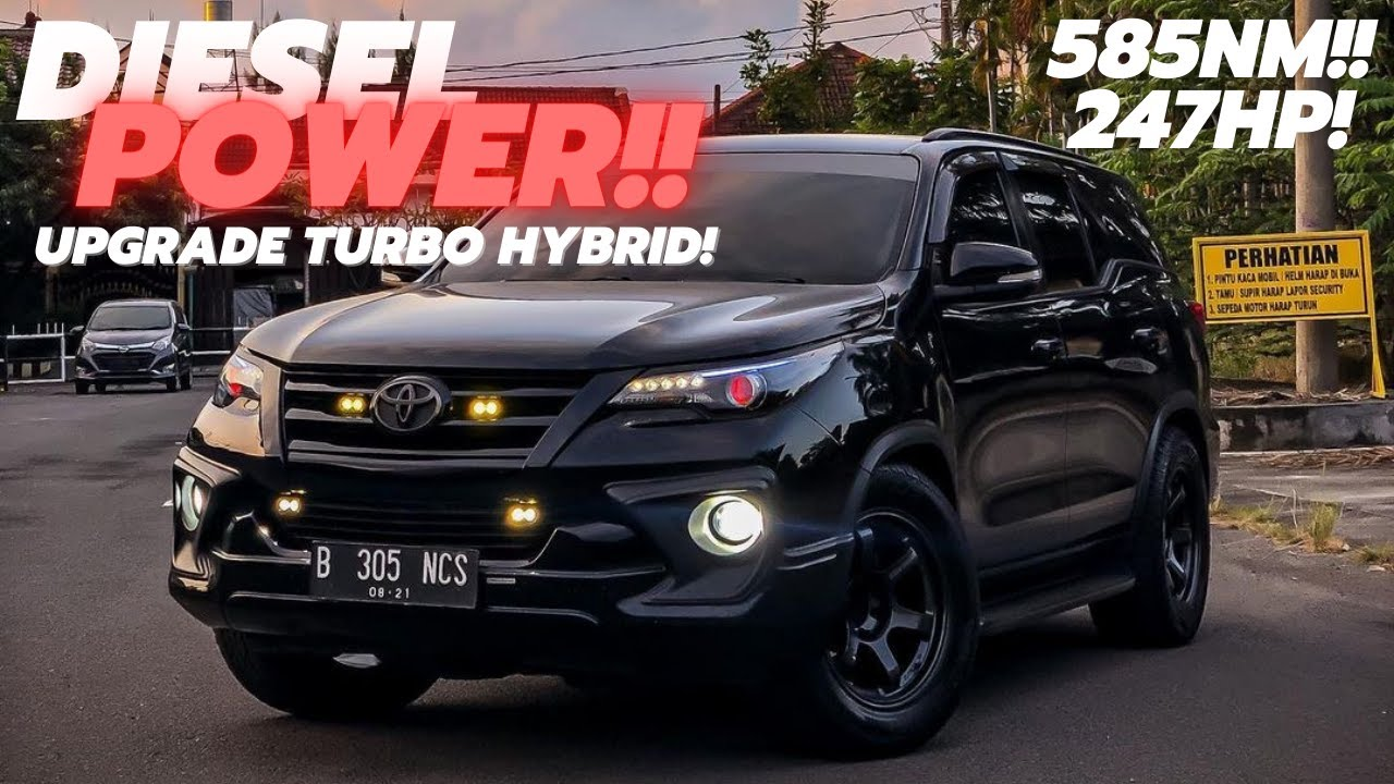 Modifikasi Toyota Fortuner VRZ | 180KM/H? Gampang!