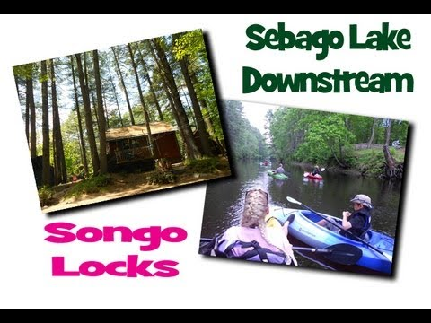 Vacation Cabin Rentals Near Sebago Lake, Songo Locks, The Songo River  Queen, Naples Maine Rentals