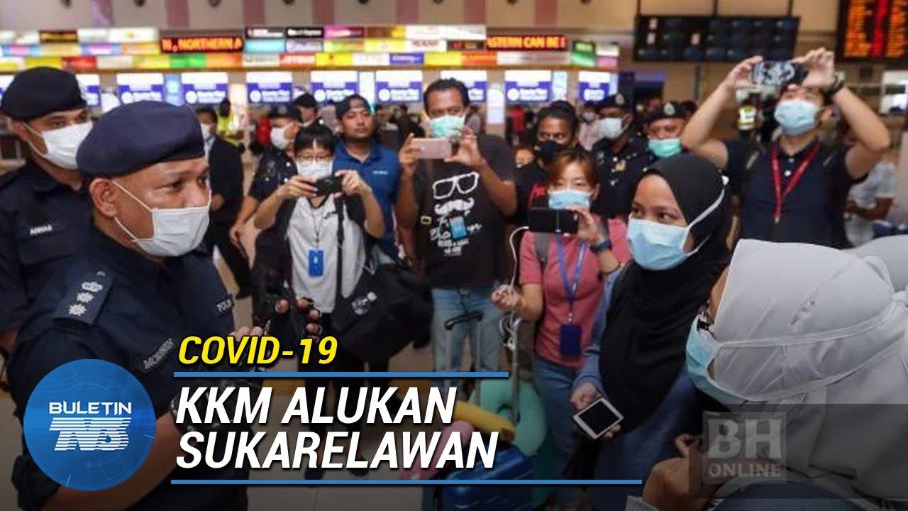 COVID-19 | 1,008 Sukarelawan Akan Tampil Bantu KKM