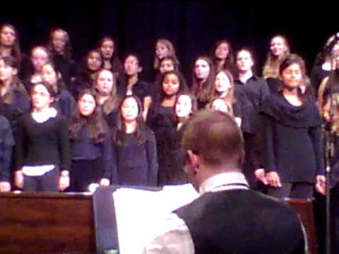 I'll be there  Wood Hill Middle School Choir and Michaela