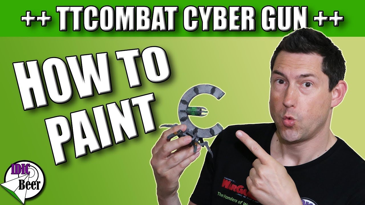 How to Paint TTCombat Terrain Cyber Guns