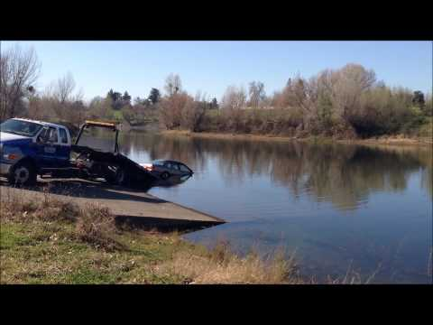 Raw Video Car Found In Feather River Of Marysville Ca 95901