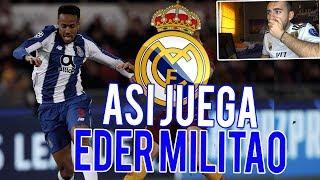 MADRIDISTA REACCIONA A EDER MILITAO NUEVO FICHAJE REAL MADRID *MEJORES JUGADAS*