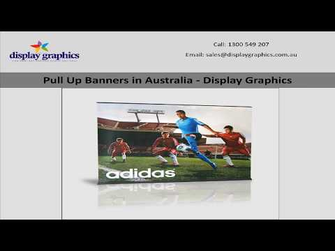 Pull Up Banners in Australia - Display Graphics